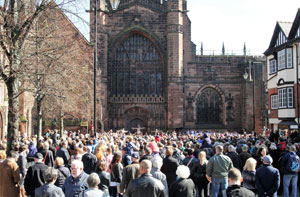 Chester Cathedral Easter 2016