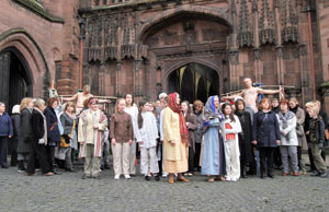 Chester Cathedral Easter