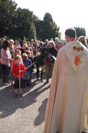 Children on Palm Sunday