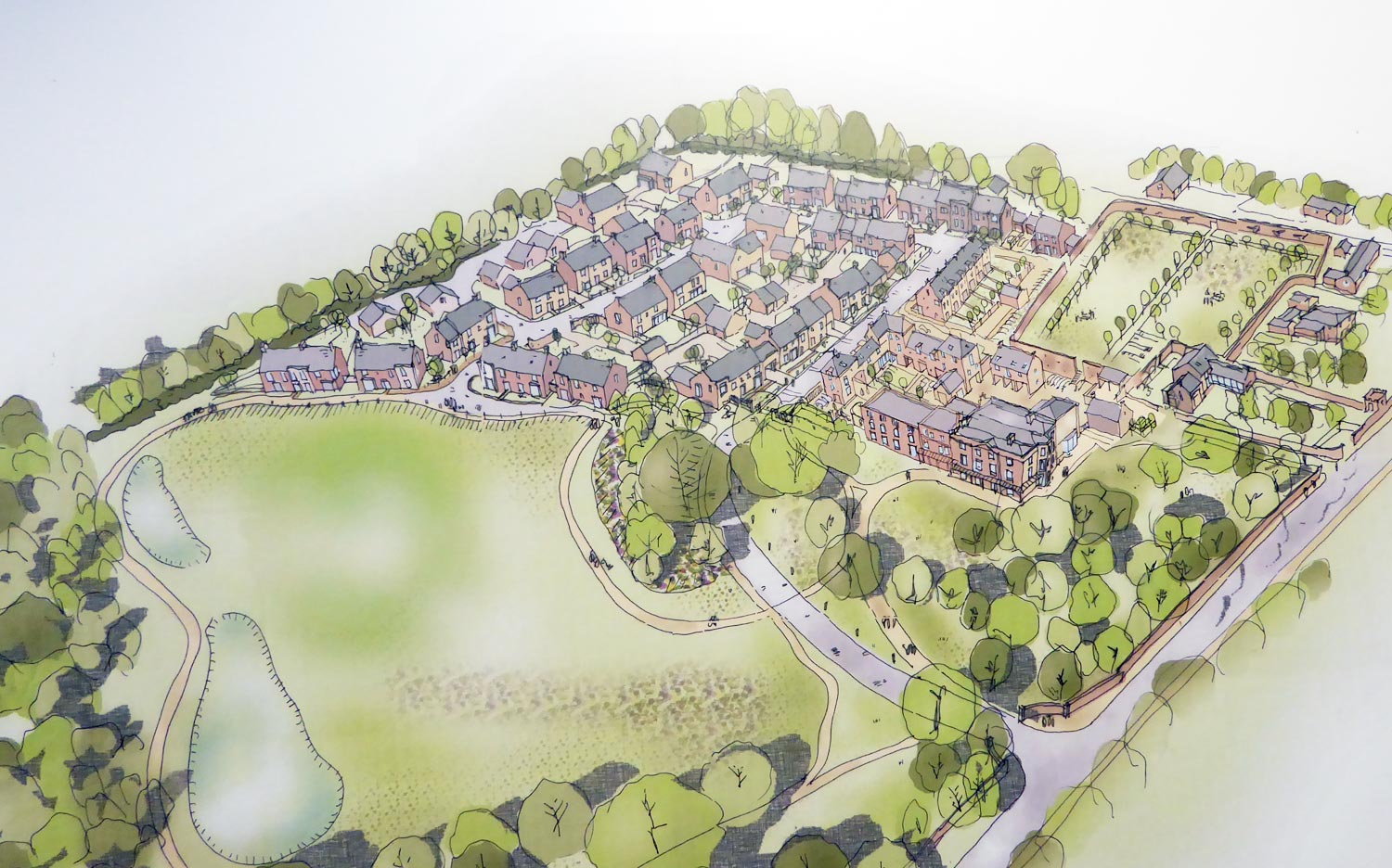 Proposed 50 Houses in Christleton