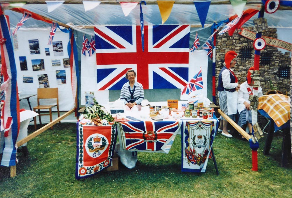 Christleton WI Silver Jubilee Stand 1977