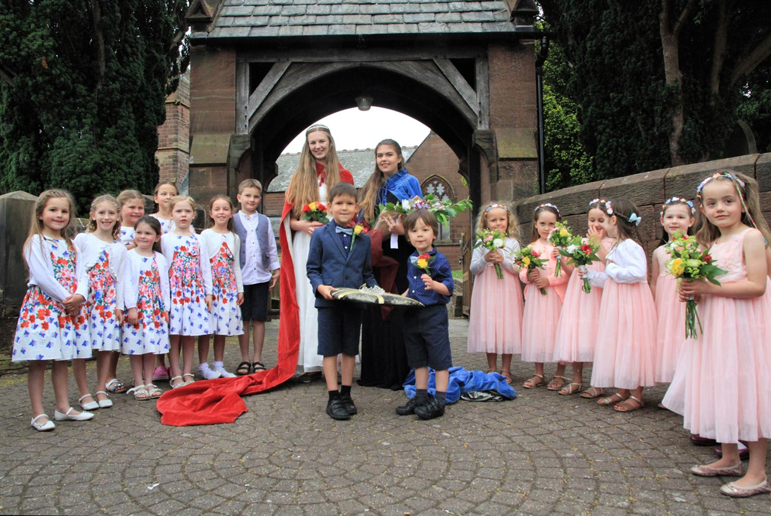 Christleton Rose Queens 2016 and 2017