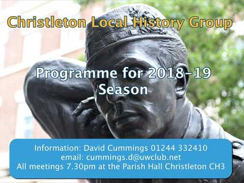 Christleton History Group February