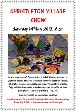 Christleton Village Show Poster