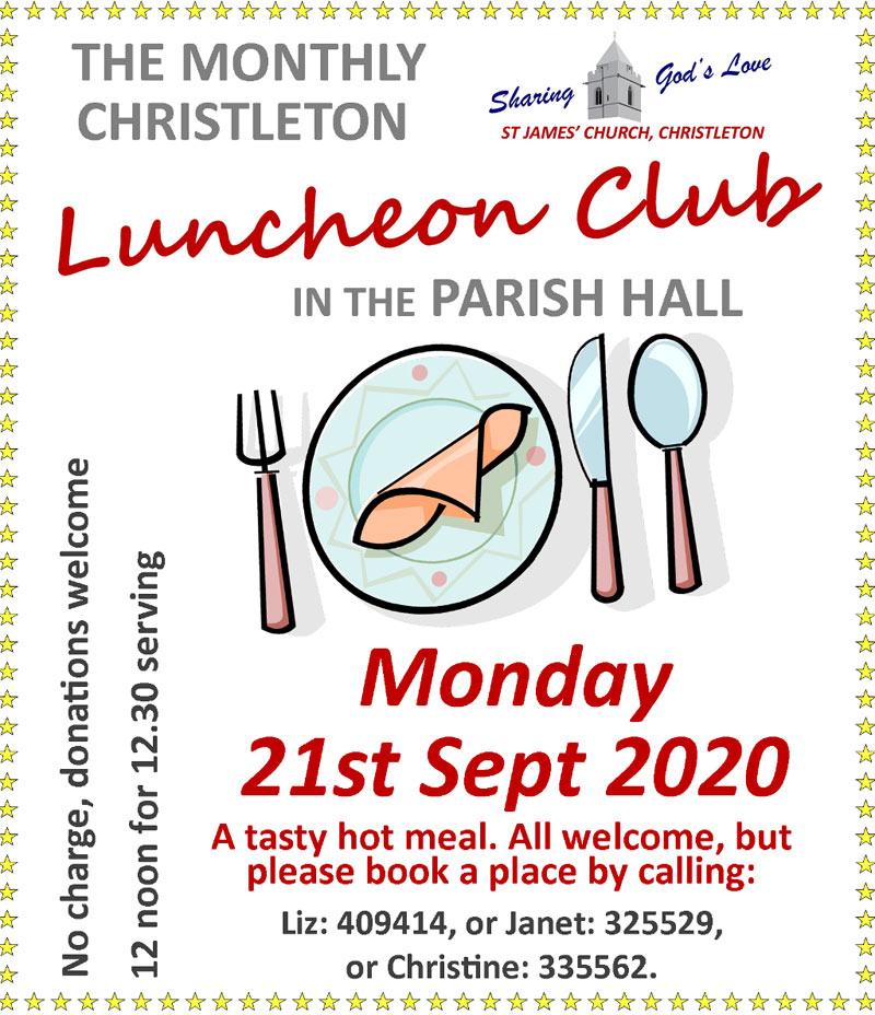 Luncheon September 21st