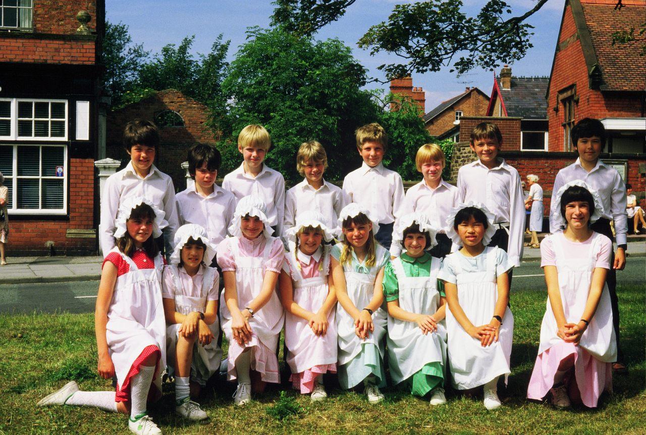 Maypole Team on the Village Green