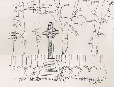 Salvatorian Cross at Christleton Hall