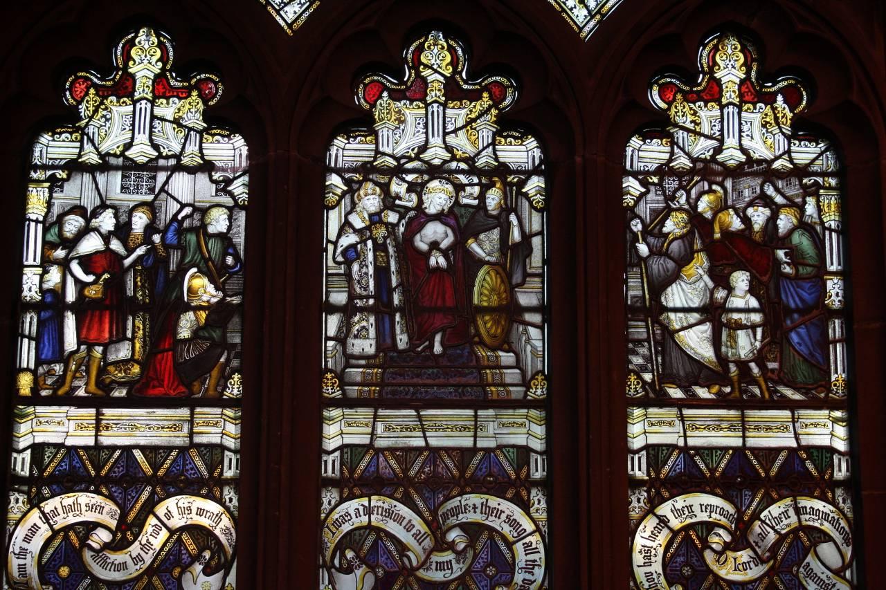 Window St. James' Church Christleton