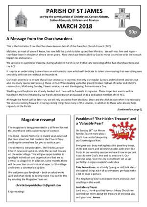 Parish Magazine March 2008
