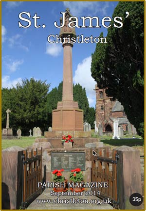 Christleton Parish Magazine September 2014