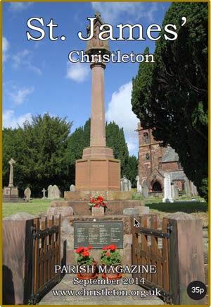 Christleton Parish Magazine September 2014