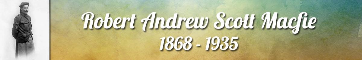 Robert Andrew Scott Macfie